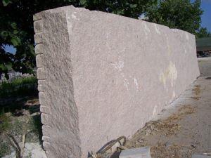立体字门牌石