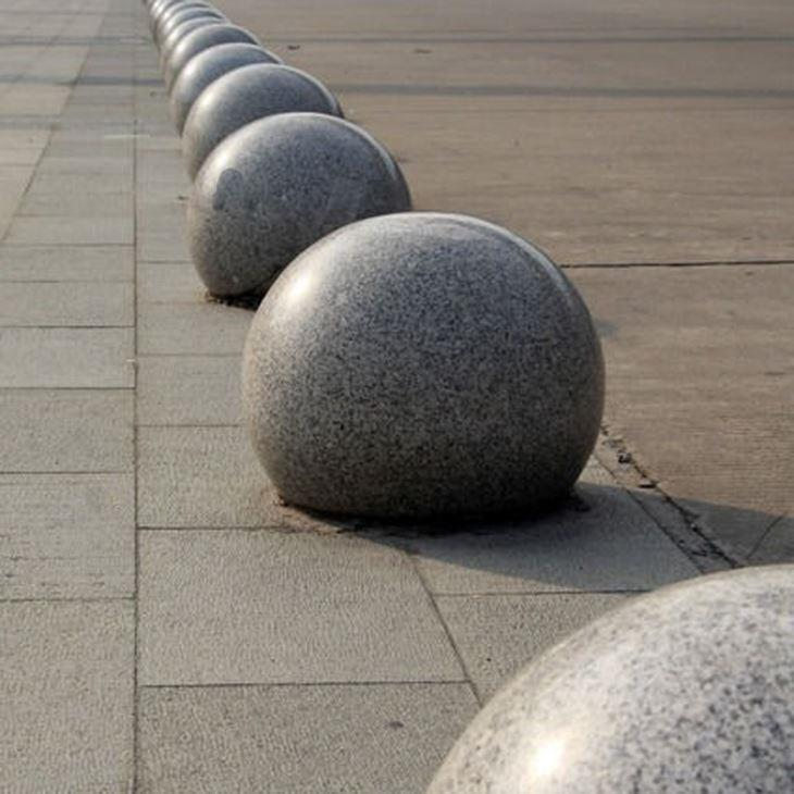 异型石材加工过程